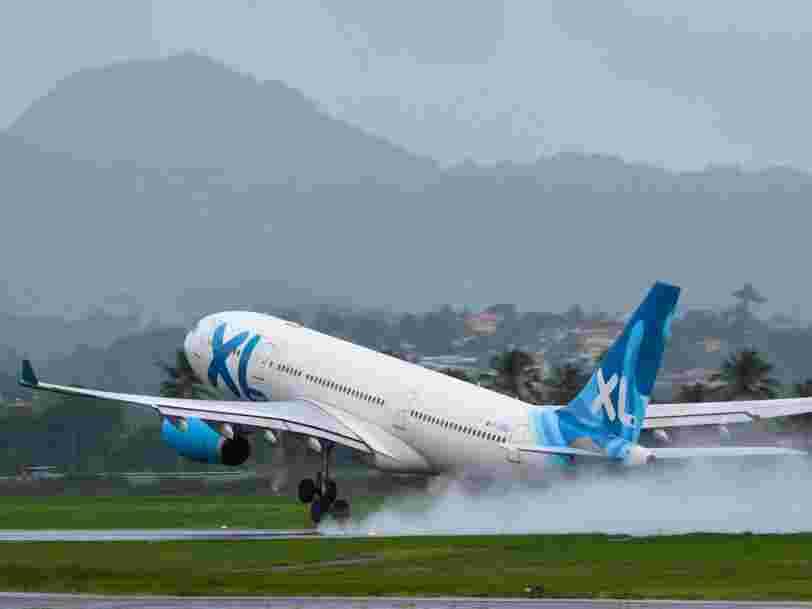 La compagnie aérienne française XL Airways met la clé sous la porte