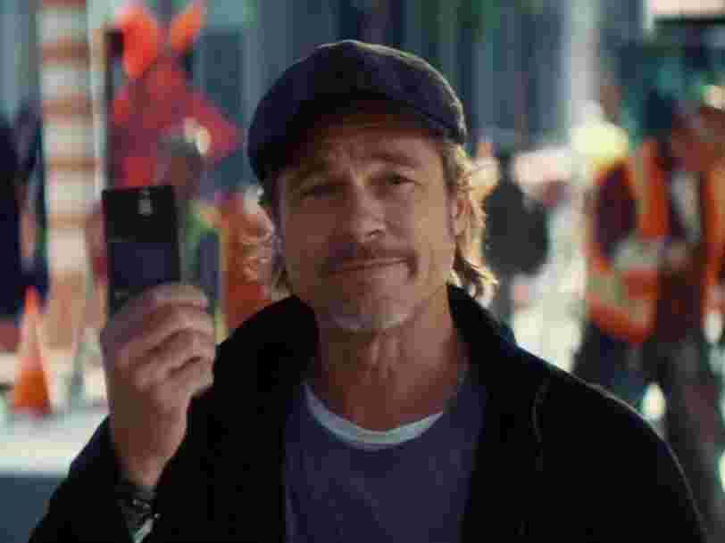 Boursorama sort le chéquier et se paye Brad Pitt pour sa nouvelle publicité