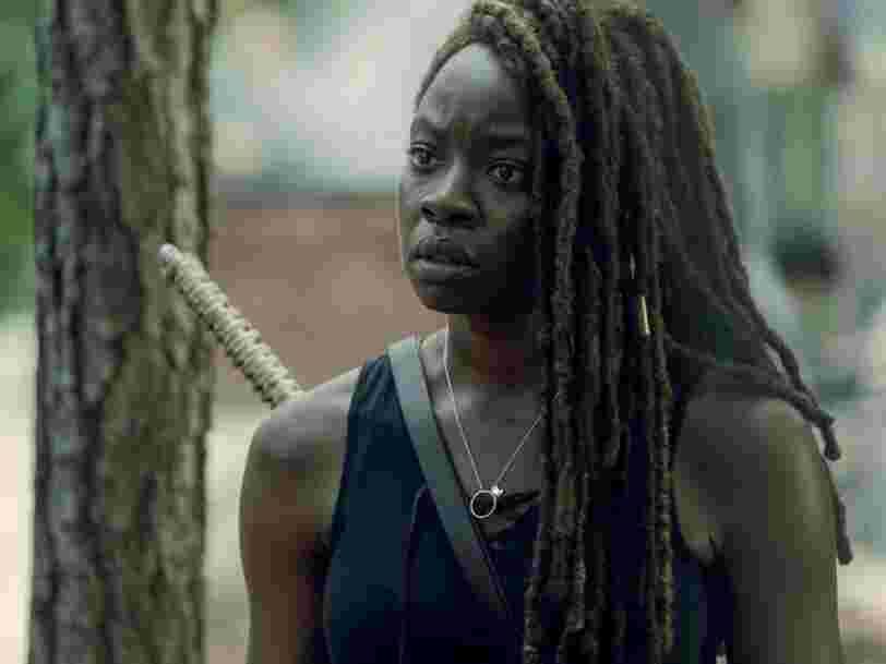 Le premier épisode de 'The Walking Dead' donne un indice sur le départ de Michonne d'après la scénariste