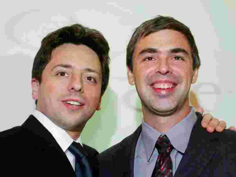 Voici comment Larry Page et Sergey Brin (Google) dépensent leur fortune