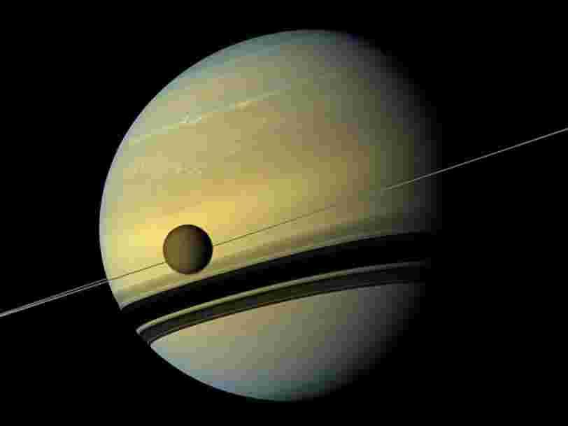 Vous pouvez donner un nom aux 20 nouvelles lunes qui viennent d'être découvertes en orbite autour de Saturne