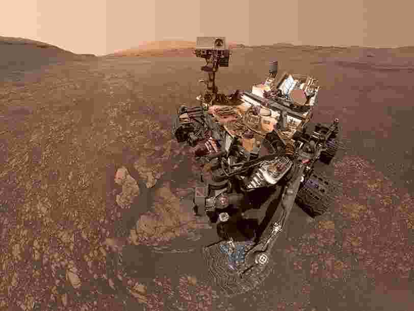 Le rover Curiosity de la NASA a découvert des traces d'un ancien oasis sur Mars