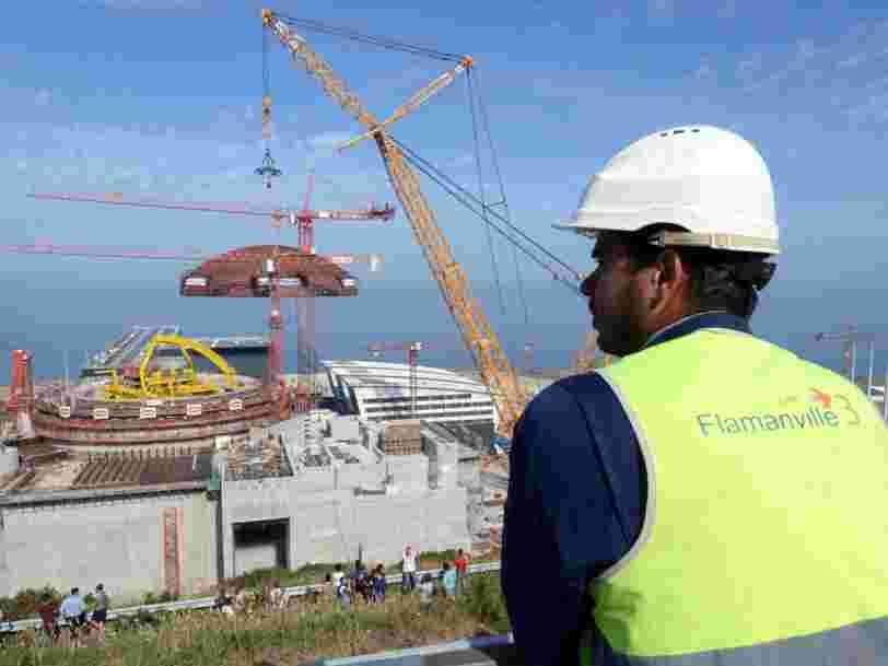 EPR : le coût astronomique des retards des chantiers pour EDF