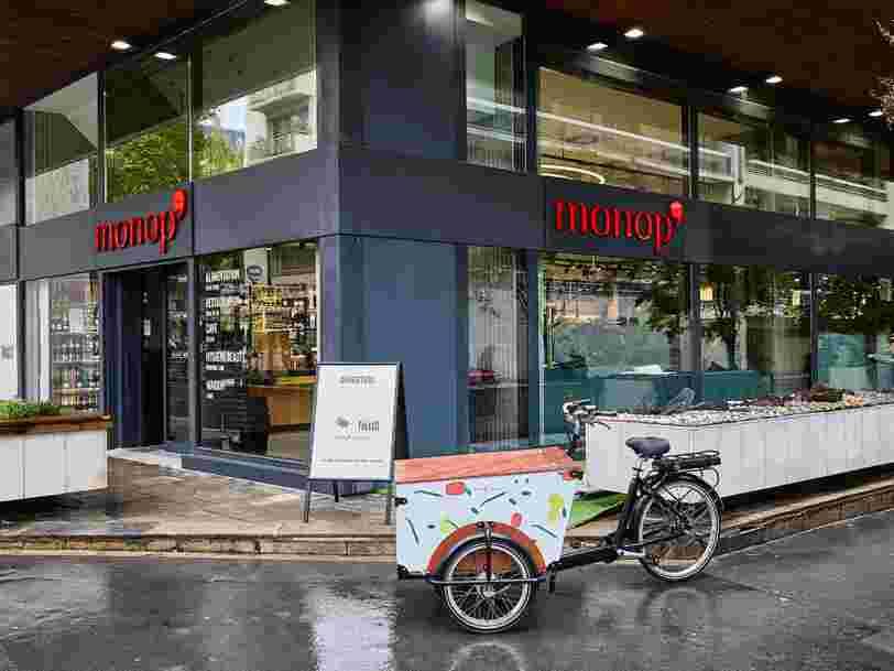 Monoprix lance son nouveau concept de magasin de proximité Monop'