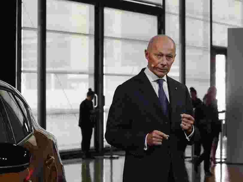Thierry Bolloré, victime collatérale de 'l'affaire Carlos Ghosn', est débarqué de Renault