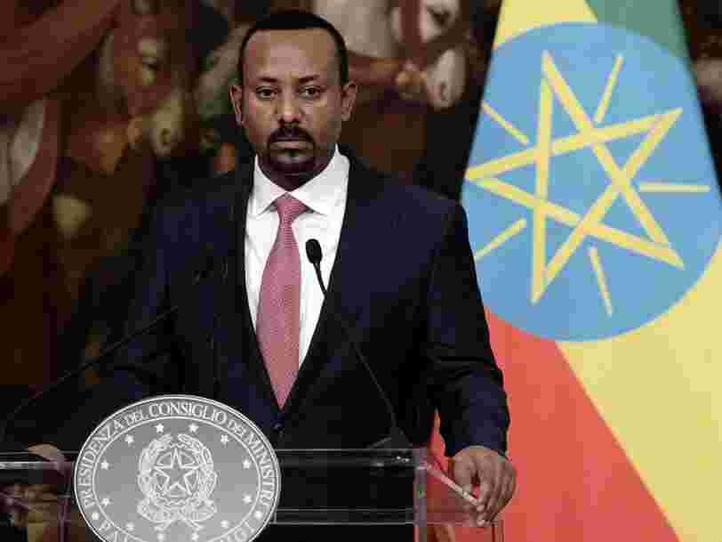 Le prix Nobel de la paix a été décerné au Premier ministre éthiopien Abiy Ahmed