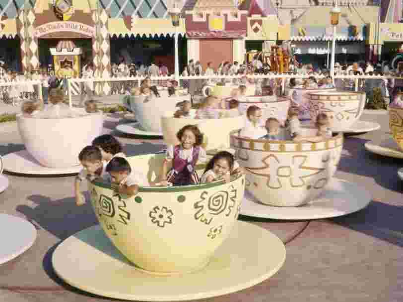 11 vieilles photos datant du jour de l'ouverture du premier Disneyland en 1955
