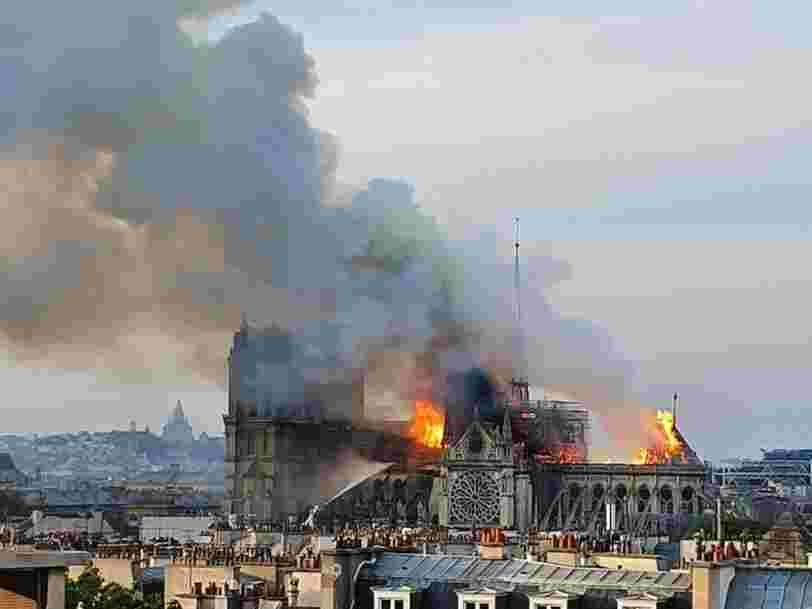 Une série sur l'incendie de Notre-Dame est en préparation