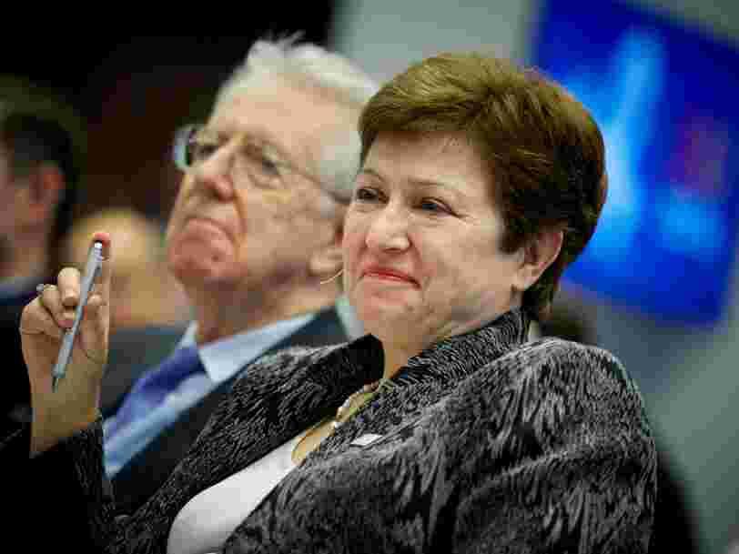 La nouvelle patronne du FMI Kristalina Georgieva est favorable à des quotas pour les femmes dans les entreprises