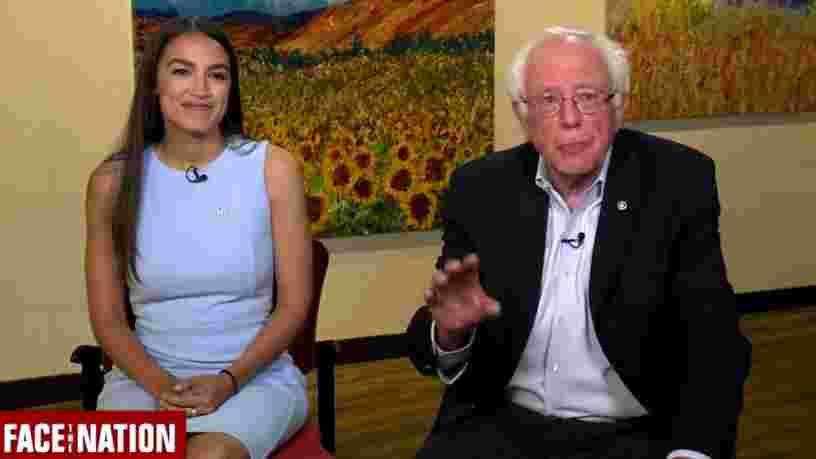 Alexandria Ocasio-Cortez soutient la candidature de Bernie Sanders pour la présidentielle américaine