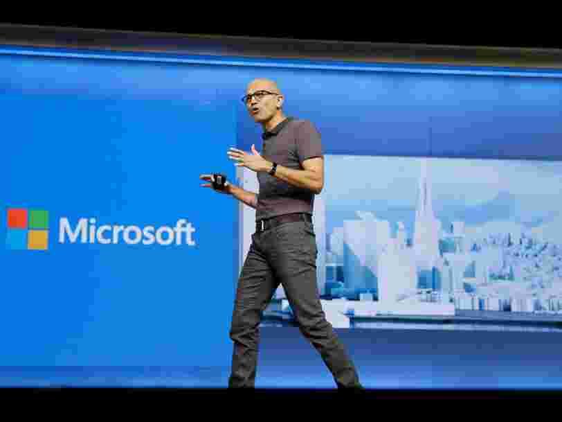 La rémunération de Satya Nadella, le DG de Microsoft, a augmenté de 65% en 2019