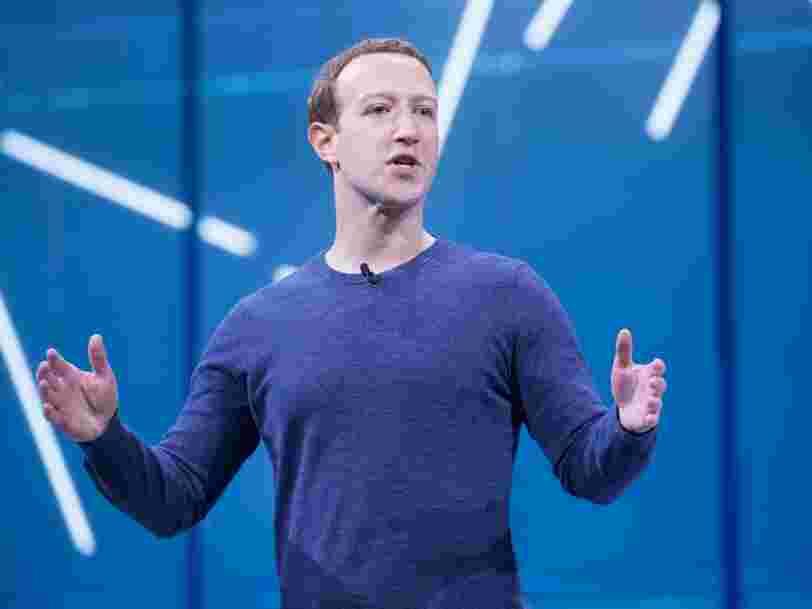 Mark Zuckerberg refuse d'être l'arbitre des fausses informations en ligne
