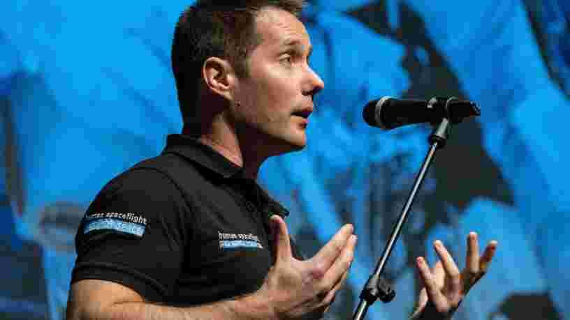 Thomas Pesquet fait du pied à la NASA pour aller un jour sur la Lune