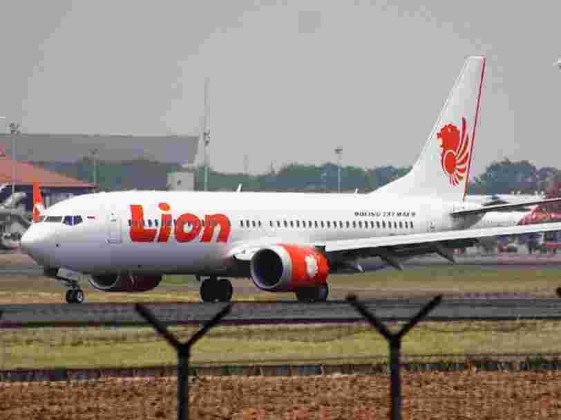 Boeing 737 Max : l'enquête indonésienne sur le crash de Lion Air pointe notamment un défaut de conception