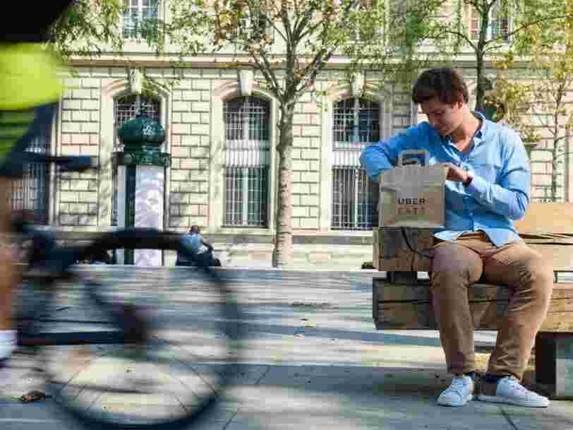 Vous pouvez désormais vous faire livrer des repas toute la nuit par Uber Eats à Paris — mais le choix sera limité
