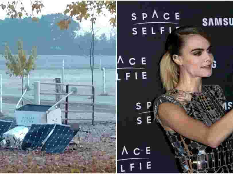 Un satellite Samsung s'est écrasé dans le jardin d'un couple dans le Michigan