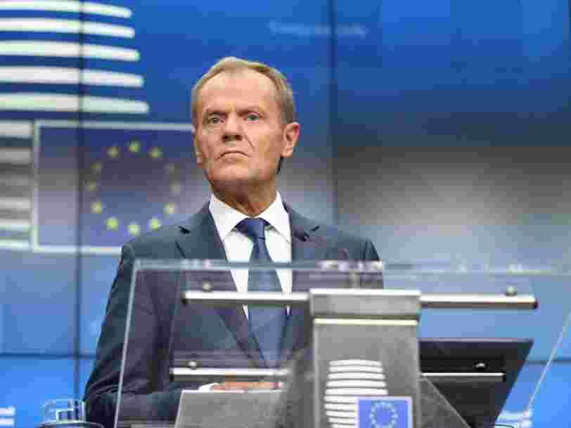 Les 27 de l'Union européenne acceptent de reporter une 3e fois le Brexit