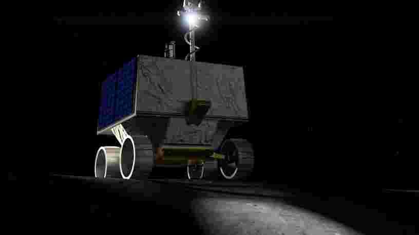 La NASA a dévoilé le rover qu'elle enverra sur la Lune fin 2022 pour trouver des traces d'eau