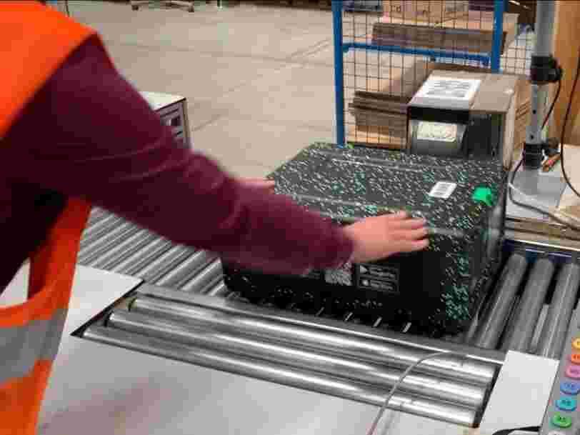Cdiscount teste avant le 'Black Friday' un emballage réutilisable 1000 fois conçu par une entreprise nantaise