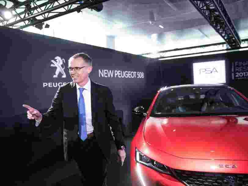 Après Renault, Fiat Chrysler négocie avec PSA pour créer le numéro 4 mondial du secteur automobile