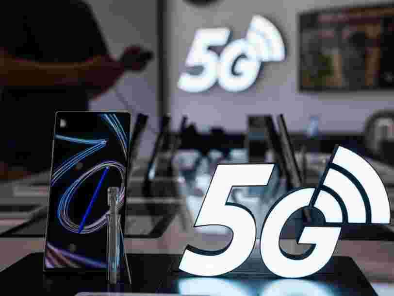 Voici pourquoi la 5G risque d'accroître l'impact du numérique sur l'environnement