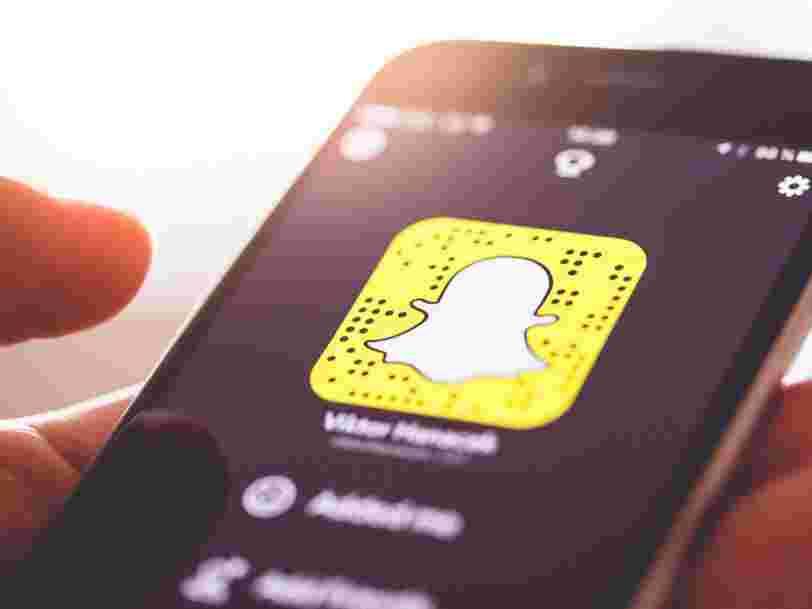 Snapchat lance '3D Paint' sur iOS, une fonctionnalité permettant de dessiner en réalité augmentée