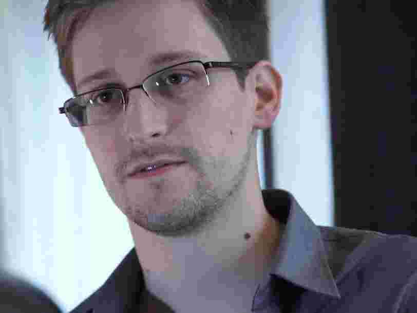 Selon Edward Snowden, le business model des GAFAM repose sur 'l'abus' des utilisateurs
