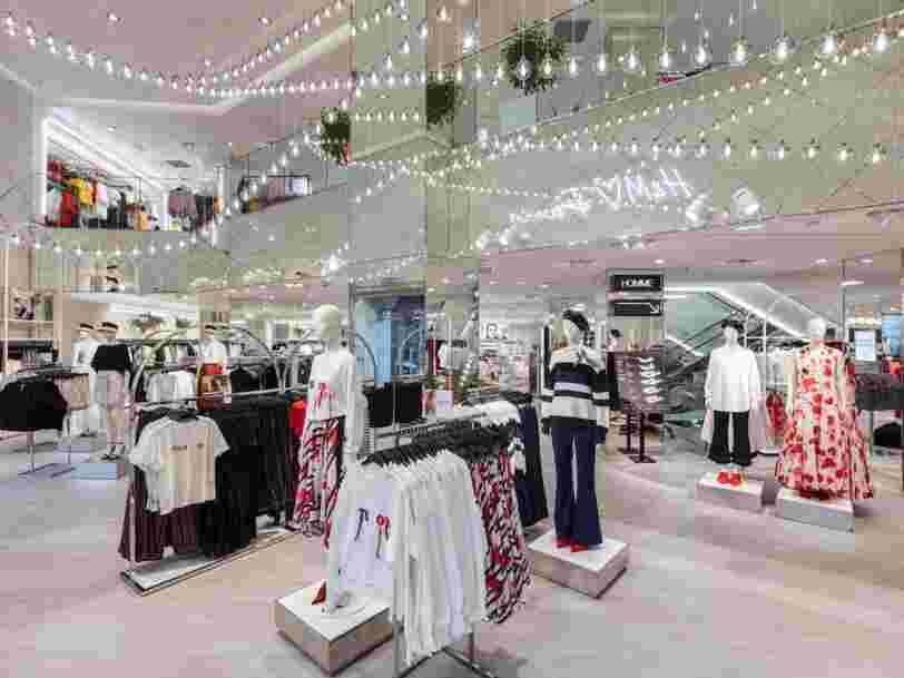 H&M teste la location de vêtements en Suède