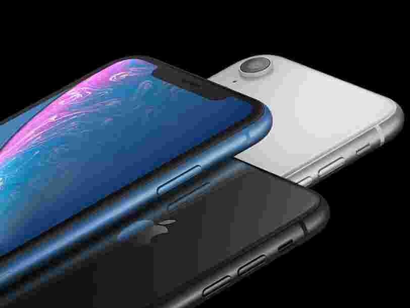 L'iPhone XR est toujours un succès pour Apple, plus d'un an après sa sortie