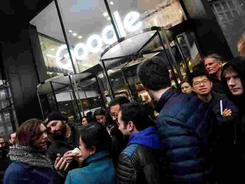 Google licencie un employé pour avoir fourni des documents internes aux médias