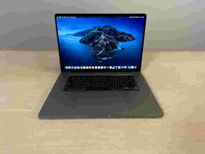 On a testé le MacBook Pro 16 pouces qu'Apple vient de sortir