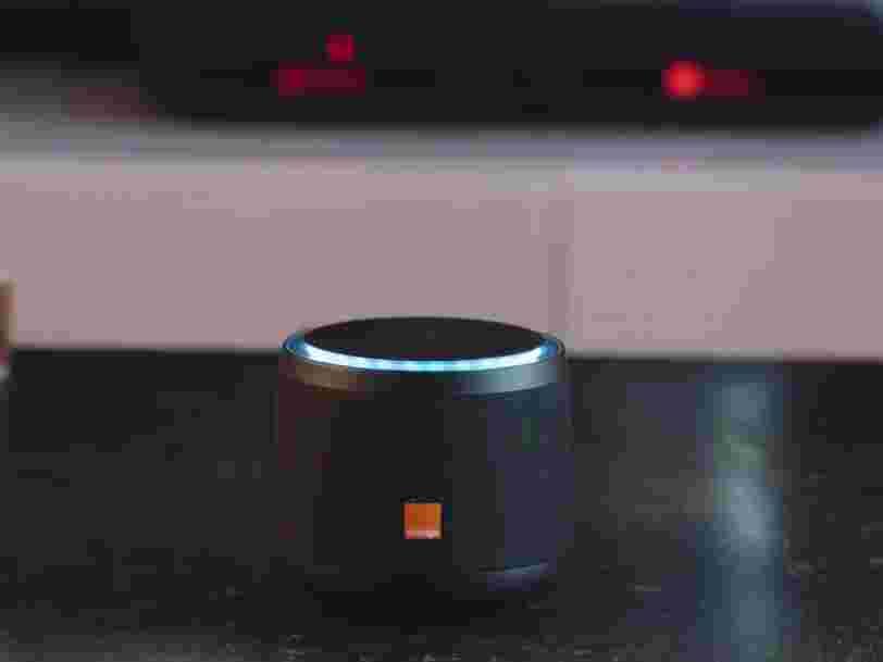 Orange présente Djingo, son enceinte connectée qui intègre deux assistants vocaux dont Alexa