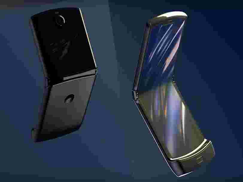 Date de sortie, prix, écran pliable... On vous dit tout sur la réédition 2019 du mythique Razr de Motorola