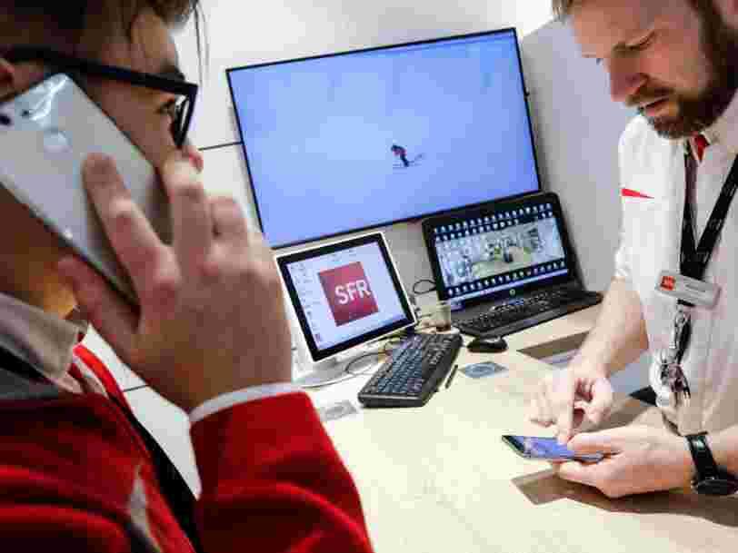La maison-mère de SFR profite de ses gains d'abonnés, dans le fixe comme sur le mobile