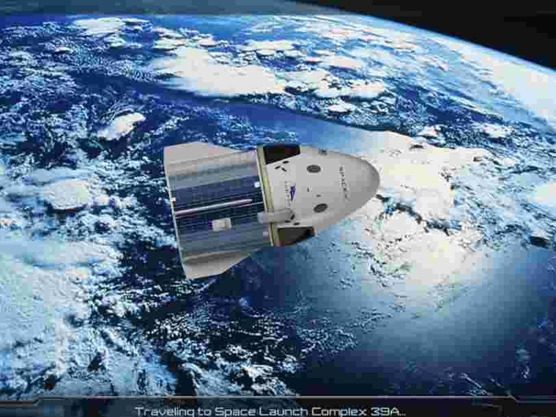 Vous pouvez voler à bord de la Crew Dragon de SpaceX grâce à une nouvelle appli de la NASA, voici ce que ça donne