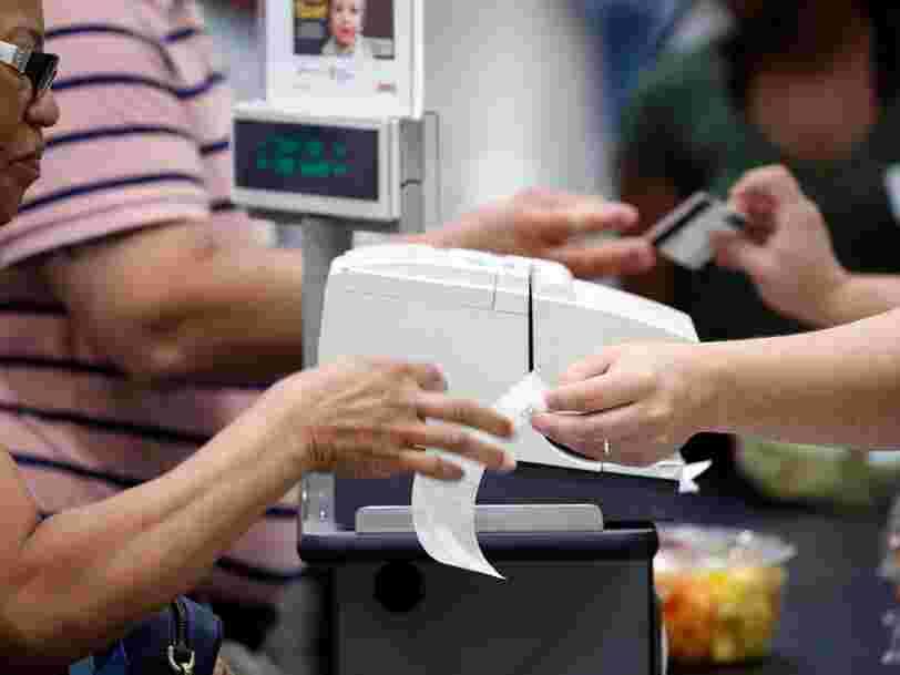 Le gouvernement veut stopper l'impression des tickets de caisse de moins de 10 €