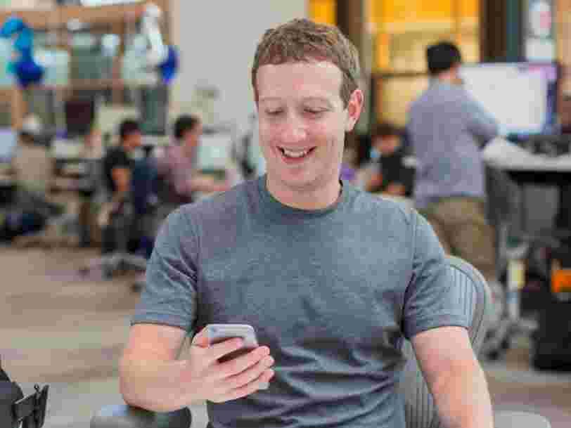 Mark Zuckerberg a créé un compte TikTok en secret, et il suit des célébrités comme Ariana Grande, Selena Gomez et Bruno Mars