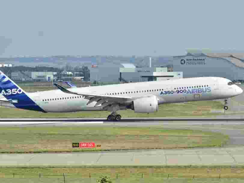 Airbus reçoit une énorme commande de 16 Mds$ de la compagnie Emirates