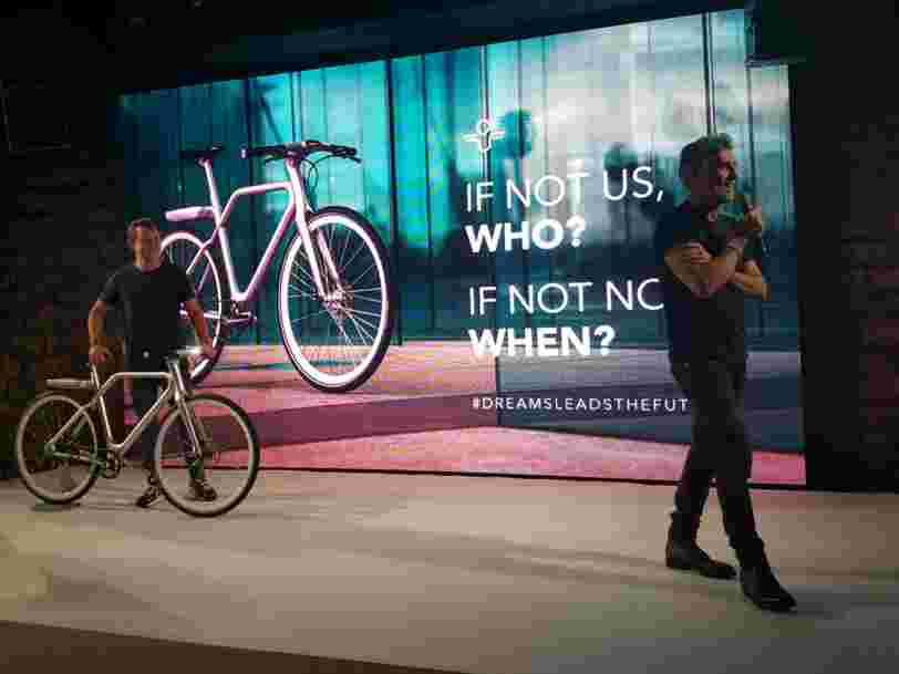 Marc Simoncini lance Angell avec l'idée que le vélo électrique remplacera bientôt la voiture en ville