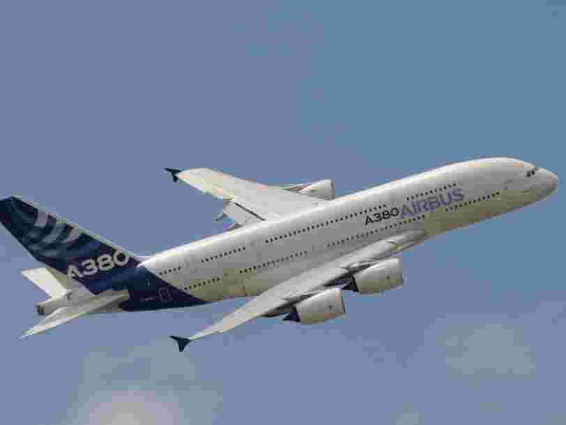 Des A380 d'Airbus vont être inspectés pour des risques de micro-fissures sur les ailes