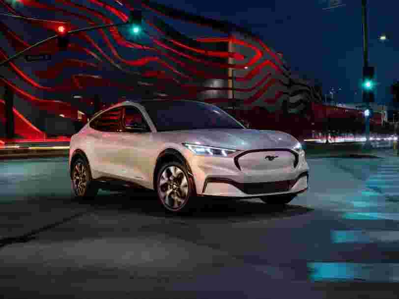 La nouvelle Mustang électrique Mach-E fait-elle le poids face au Model Y de Tesla ?