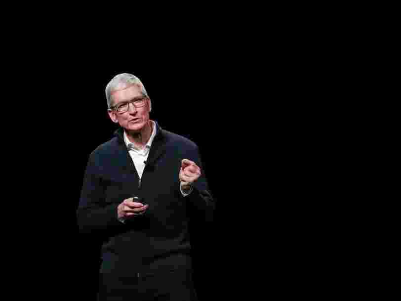 Le DG d'Apple Tim Cook estime que l'exploitation de données personnelles sous prétexte de progrès est un 'compromis trompeur'