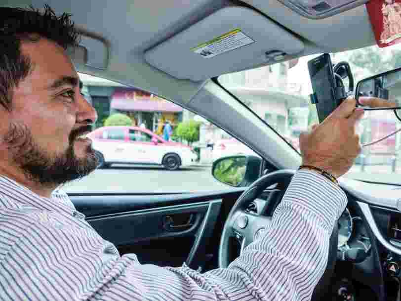 Uber teste dans deux pays l'enregistrement audio des trajets