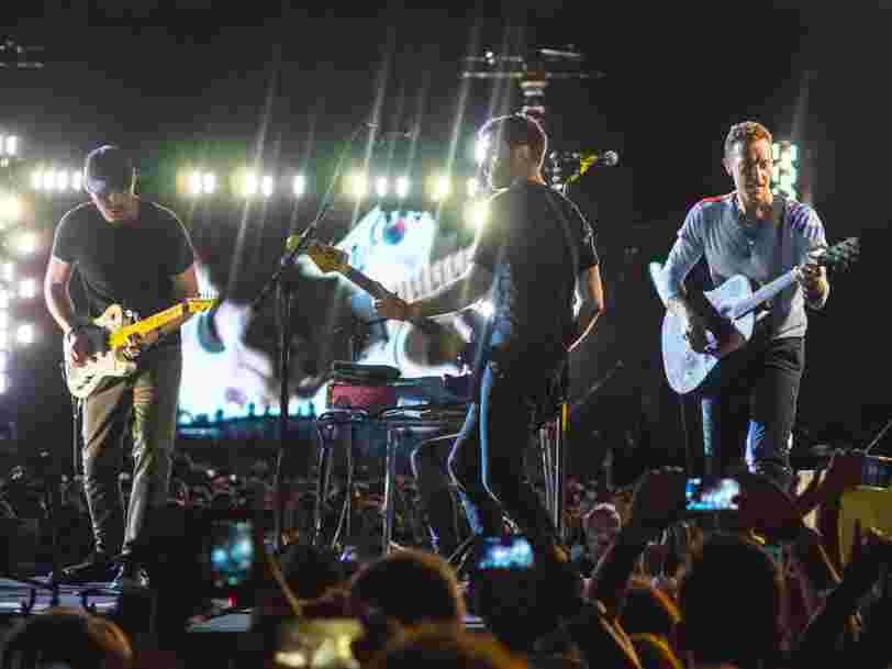 Coldplay reporte sa tournée pour l'album 'Everyday Life' jusqu'à ce qu'elle soit plus respectueuse de l'environnement