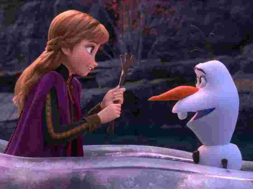 'La Reine des neiges 2' bat des records au box-office pour son premier week-end en salles