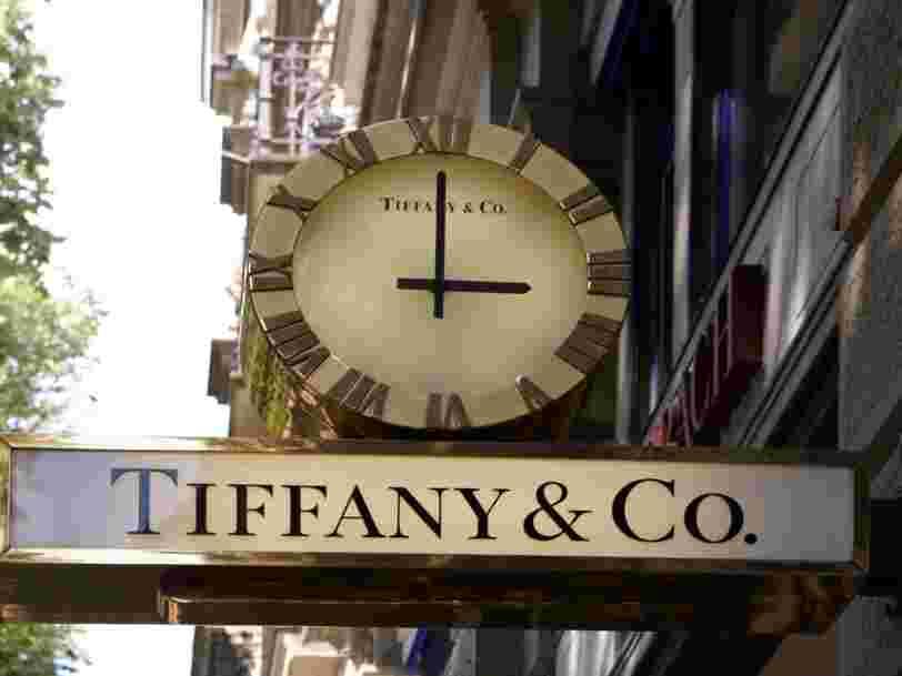 LVMH rachète le joaillier de luxe américain Tiffany & Co pour 14,7 Mds€
