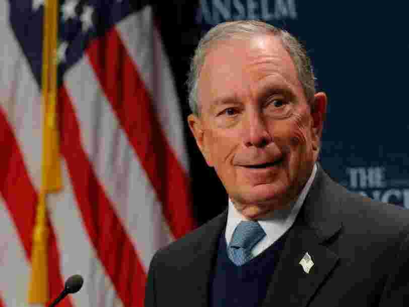Voici comment Michael Bloomberg, milliardaire et candidat à la Maison Blanche, dépense sa fortune