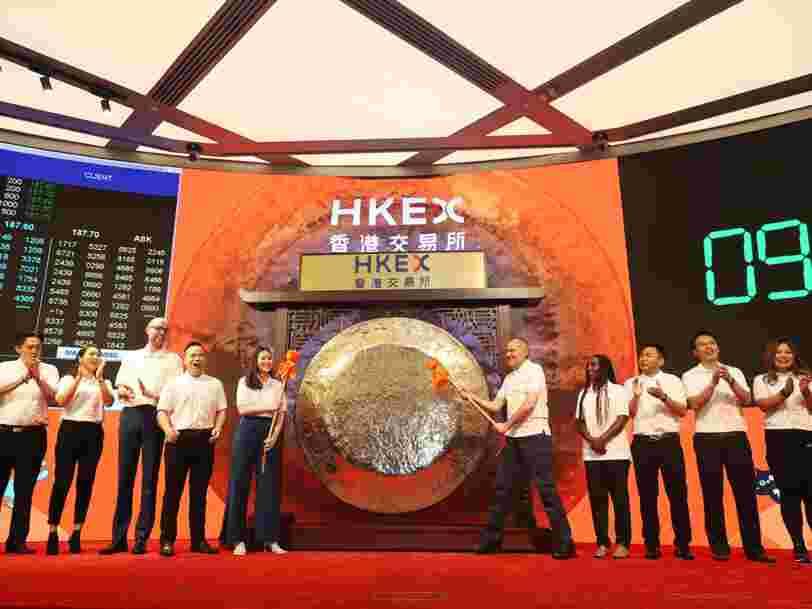Alibaba décolle en Bourse pour son premier jour de cotation à Hong Kong
