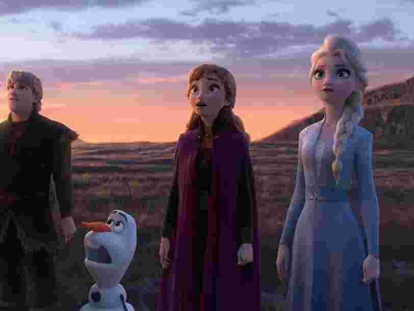 'La Reine des neiges 2' vient de battre un record au box office détenu par 'Nemo' depuis 16 ans