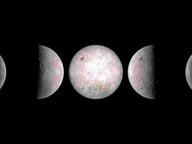 Cette animation montre que la Lune n'a pas vraiment de côté obscur